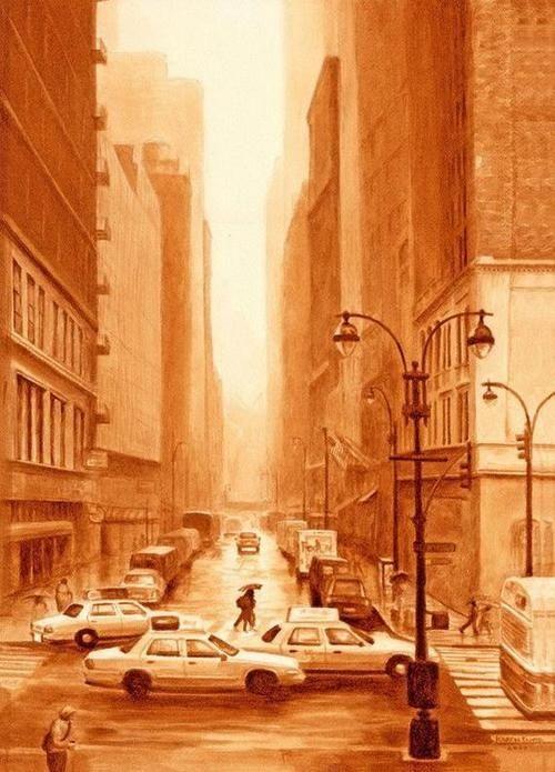 5 Pelukis Kopi yang Paling Terkenal di Dunia: Karen Eland