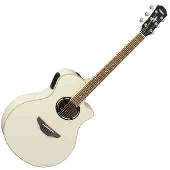 Yamaha Gitar Akustik Elektrik APX 500II - Vintage White