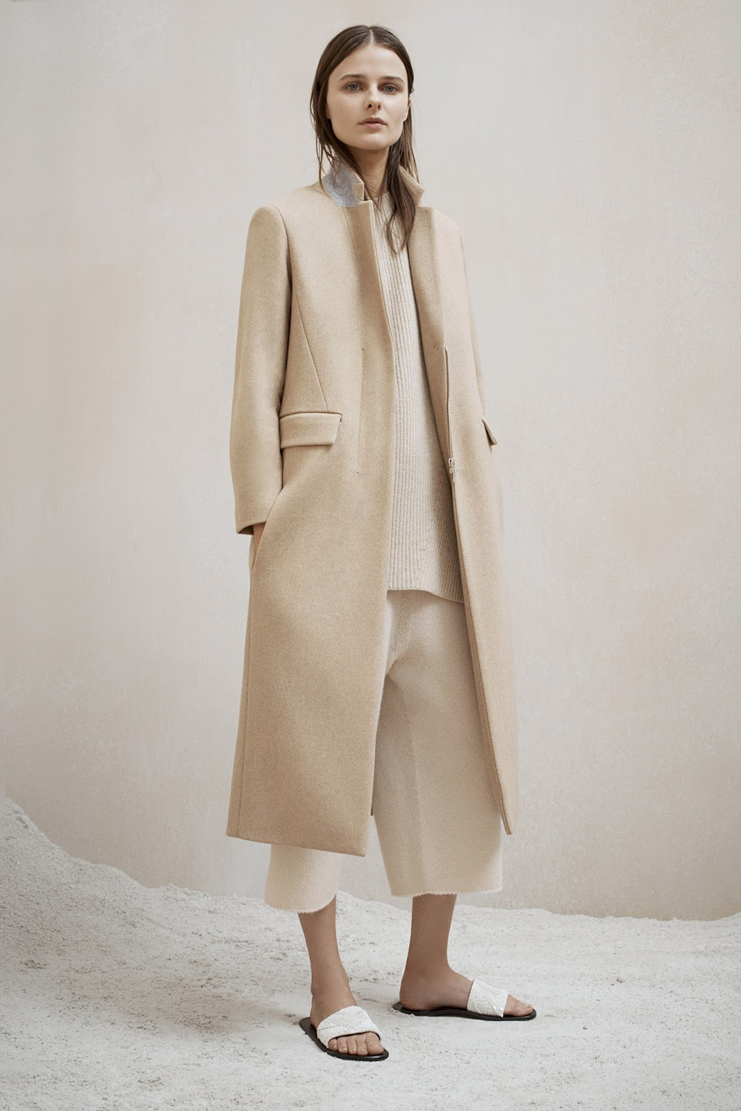 via fashioned by love | The Row Pre-Fall 2015 | camel trends | 2015