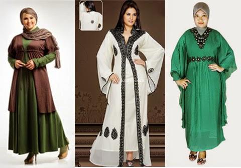 10 Tips Memilih Baju Muslim Untuk Wanita Gemuk Agar