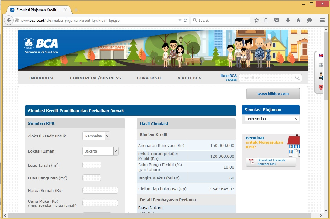 My Trips, My Thougts and My Things: KPR Bank BCA, Mandiri ...