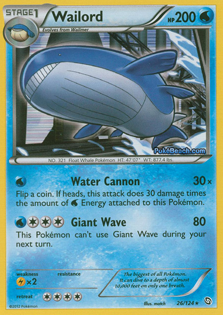 Wailord -- Dragons Exalted Pokemon Card Review ... Wailord Pokemon