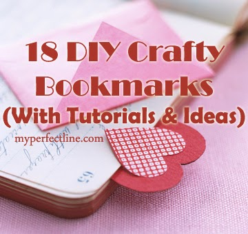 Diy 18 crafty bookmarks tutorials and ideas the perfect line these do it yourself crafts will come as a treat to all book lovers out there being a book lover myself i tried these fun bookmarks the minute i could get solutioingenieria