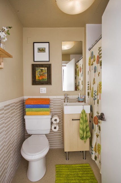 Reforma Baño Estrecho:Small Narrow Bathroom Decorating Ideas