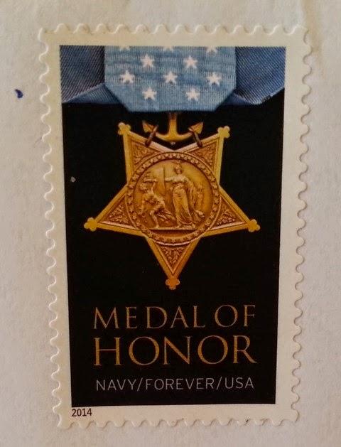 Francobollo USA serie Medal of Honor