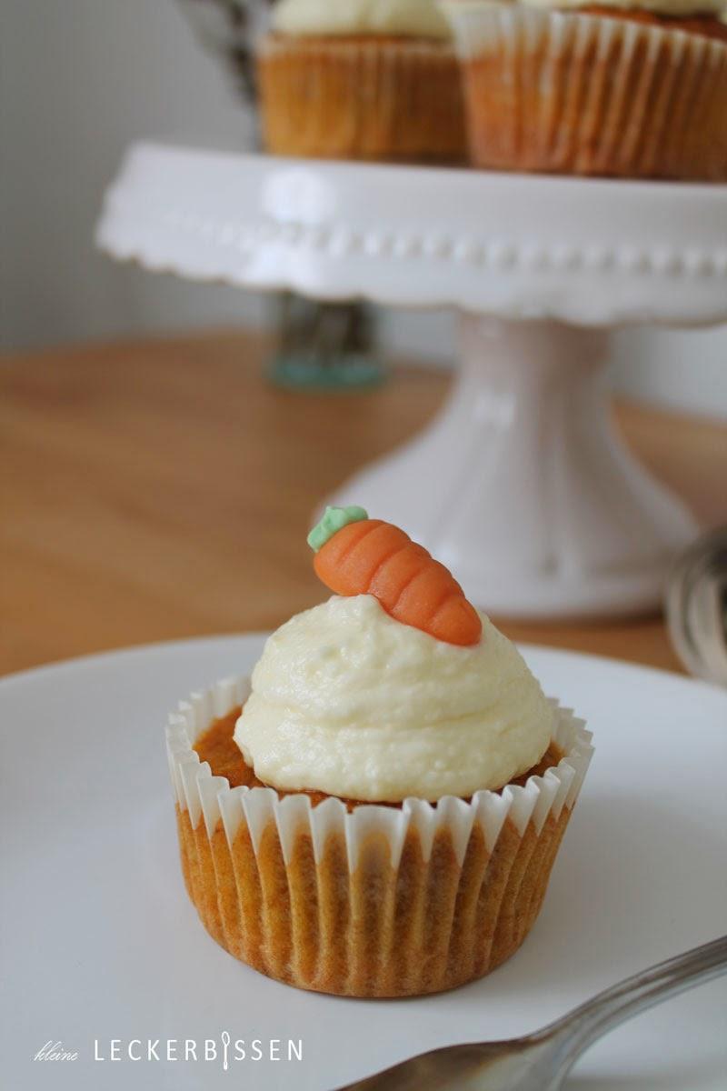 Karotten Cupcake