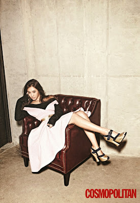 Yuri SNSD Girls' Generation - Cosmopolitan Magazine November Issue 2013