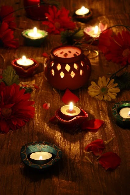 Beautiful diwali home d cor ideas the anamika mishra blog Home decorations for diwali