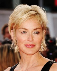 pixie/bob that looks great as an everyday style. Middle aged woman