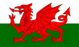 The Red Dragon, the national symbol of Wales