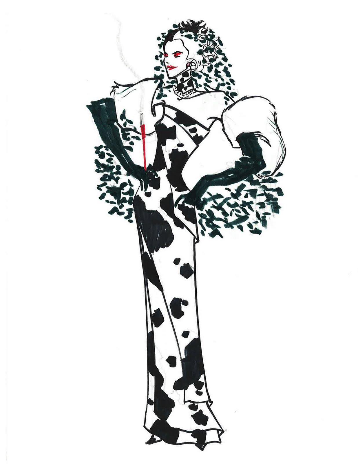 Cruella de vil fashion 40