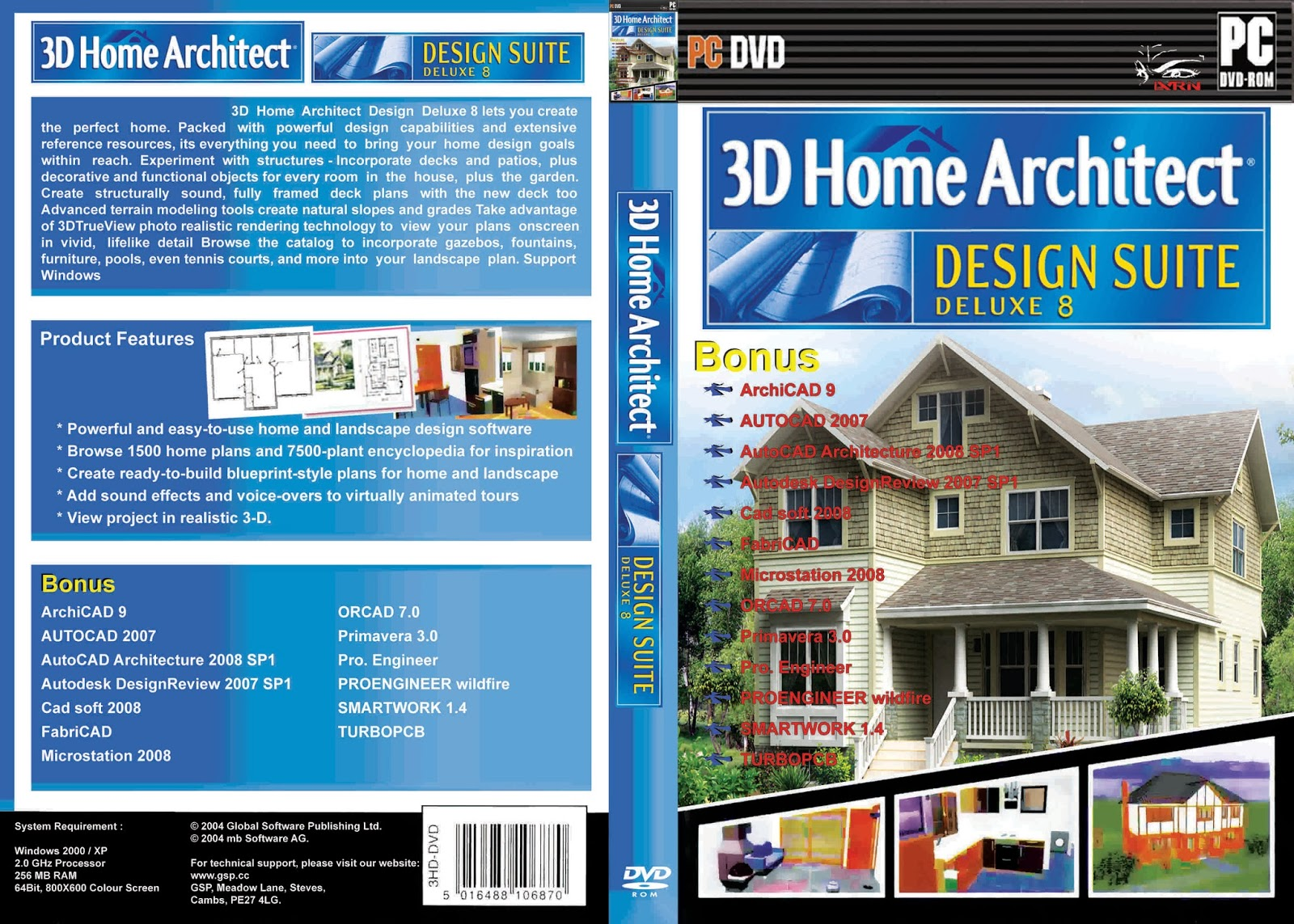 3d Home Architect Deluxe. 3d. DIY Home Plans Database