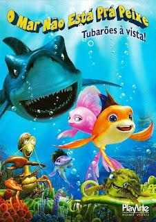 O Mar Não Está Prá Peixe 2: Tubarões à Vista - BDRip Dual Áudio