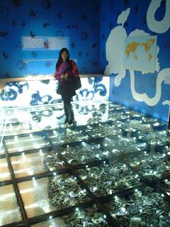 Shipwreck exhibit from the Hong Kong Cultural Center, Kowloon Park, Hong Kong