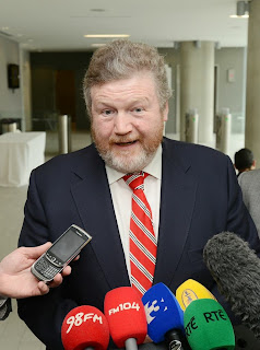 Irish Health Minister Dr. James Reilly