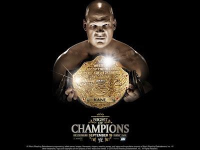 Kane champion ship belt