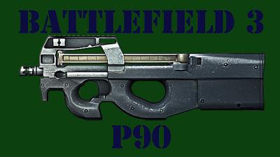 Recopilación de bajas con el subfusil P90 en el juego Battlefield 3