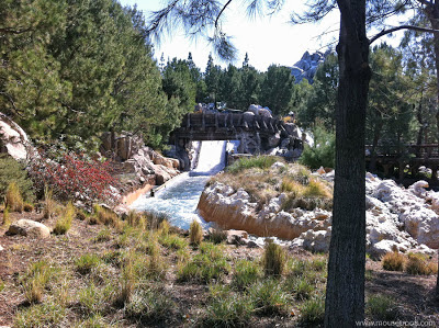 Grizzly River Run falls drop rapids flume DCA Disney Adventure