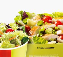 Salate la mcdonalds
