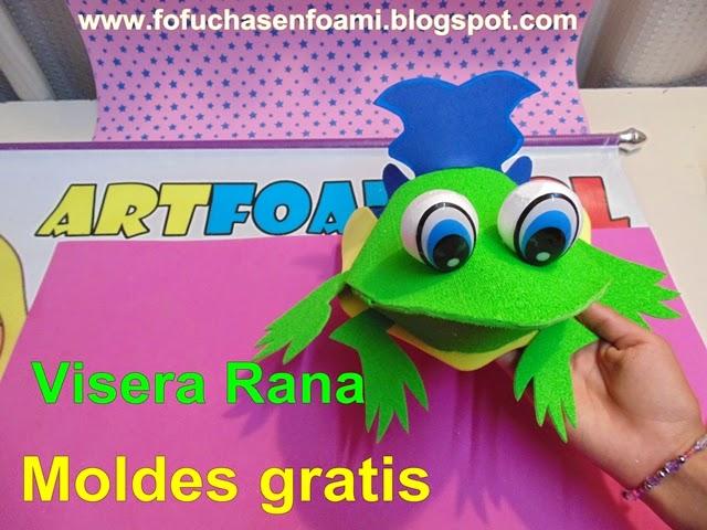 Mis Fofuchas 2013 Artfoamicol Viseras De Animalitos En