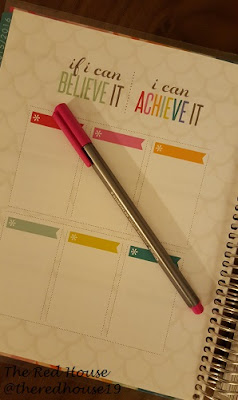 The Red House Blog - Erin Condren Yearly Aspiration Pages