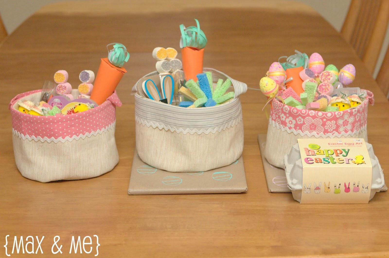 Handmade Easter Baskets Ideas : Max me handmade easter baskets