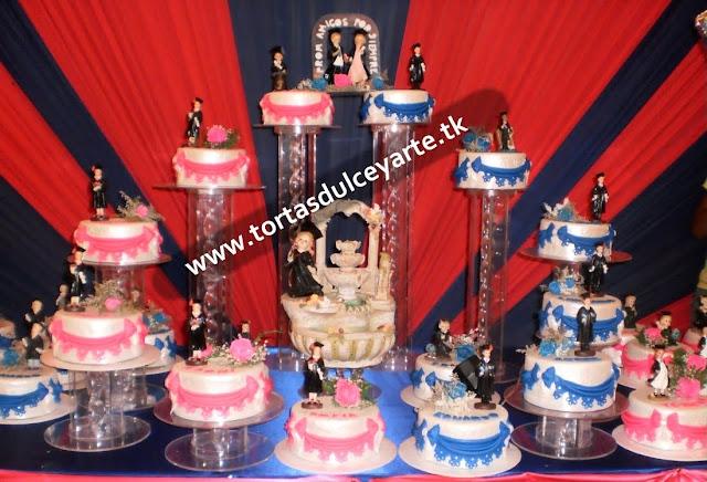 torta graduacion promocion 2