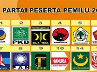 Hasil Akhir Penghitungan Pemilihan Umum Legislatif 2014