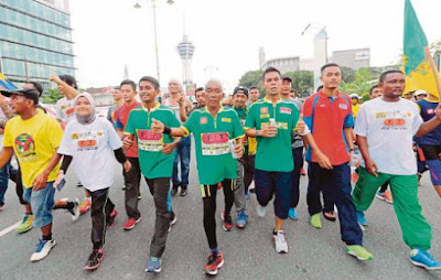 60-year-old Imam runs over 400km from Shah Alam to Alor Star, in 10 days