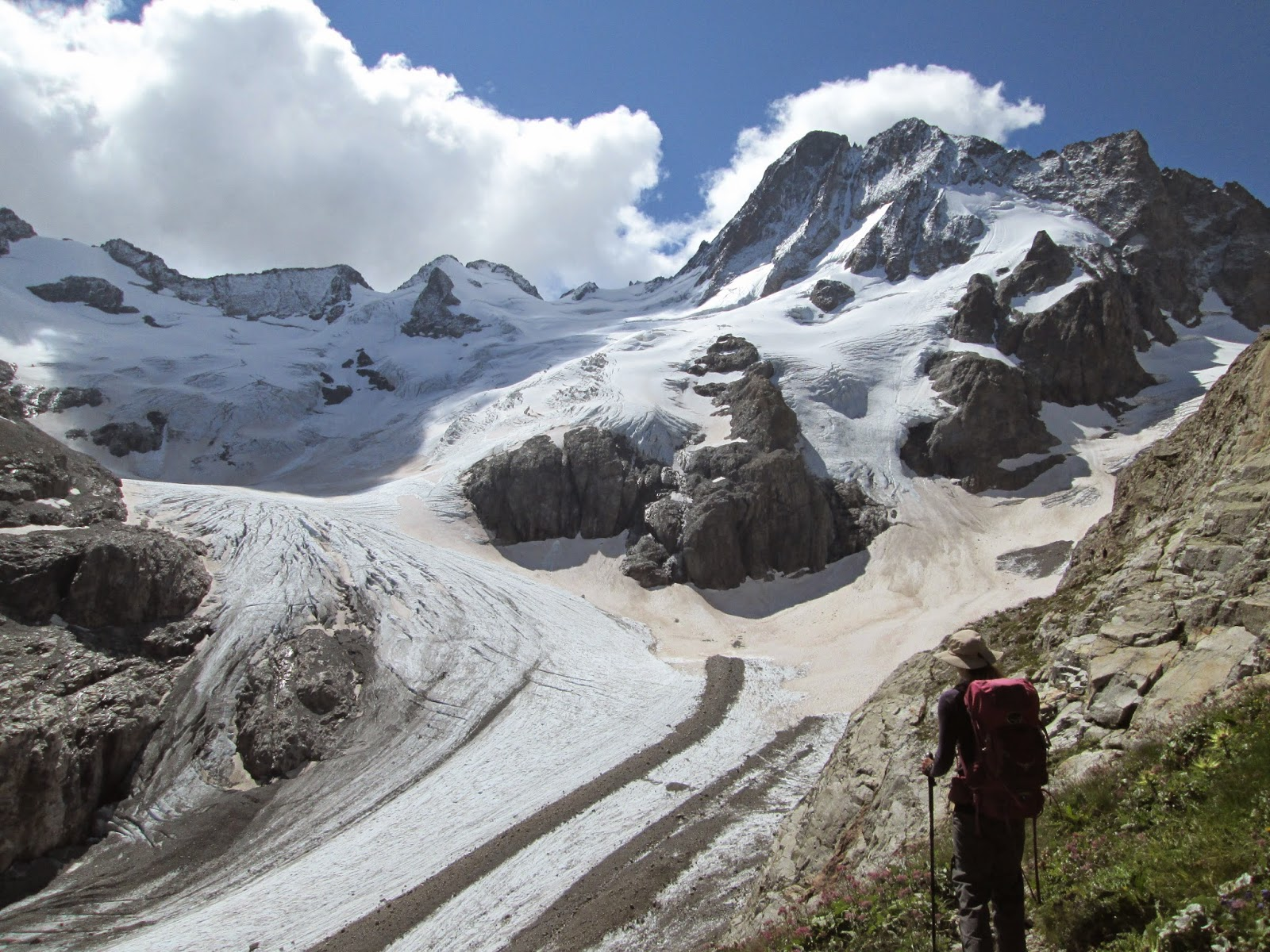 Glacier de la Pilatte, Ecrins National Park, Alps France