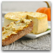 Savory Pumpkin Basil Cheesecake Spread