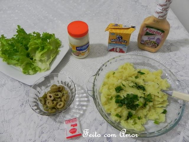 Salada fresquinha e fácil de fazer