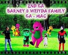 """2ND GIVEAWAY - BARNEY & WEIYDA FAMILY (MAC)"""