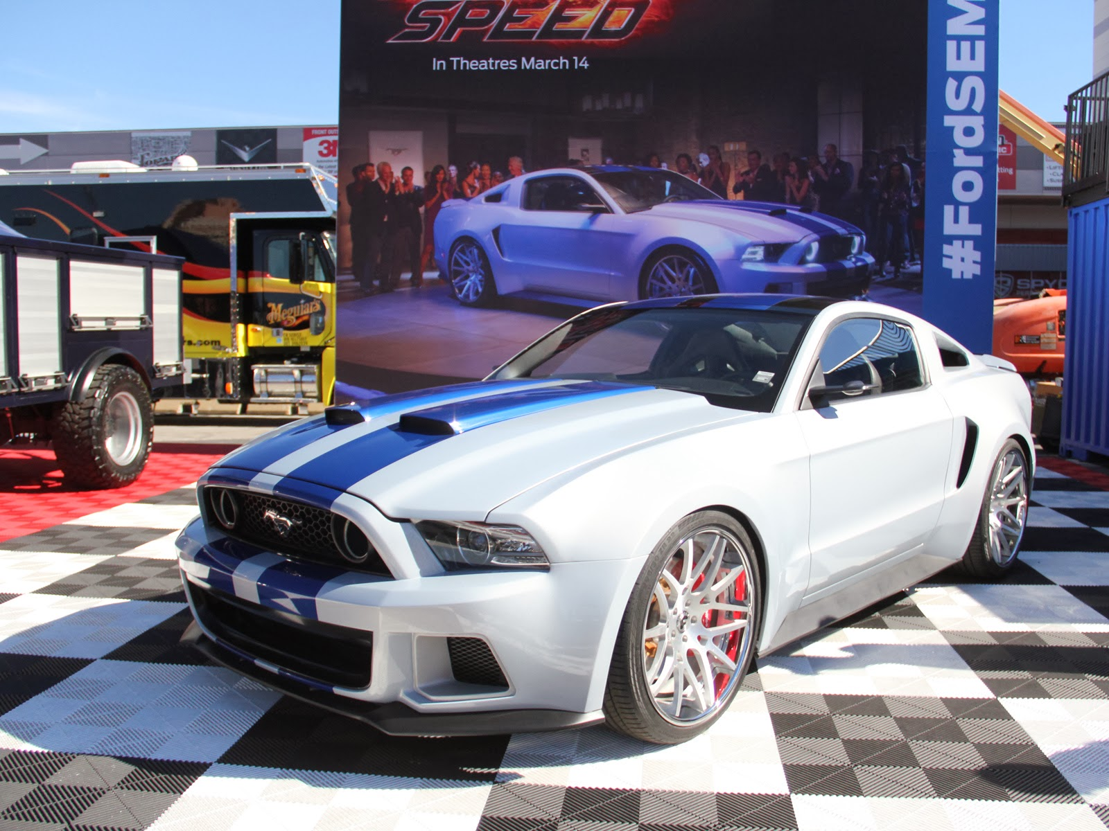 """Need for Speed"" Mustang Will Soon Be Up for Grabs"