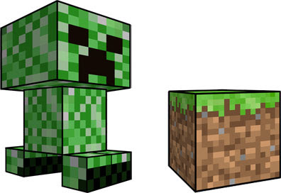 Super Punch: Minecraft paper toys