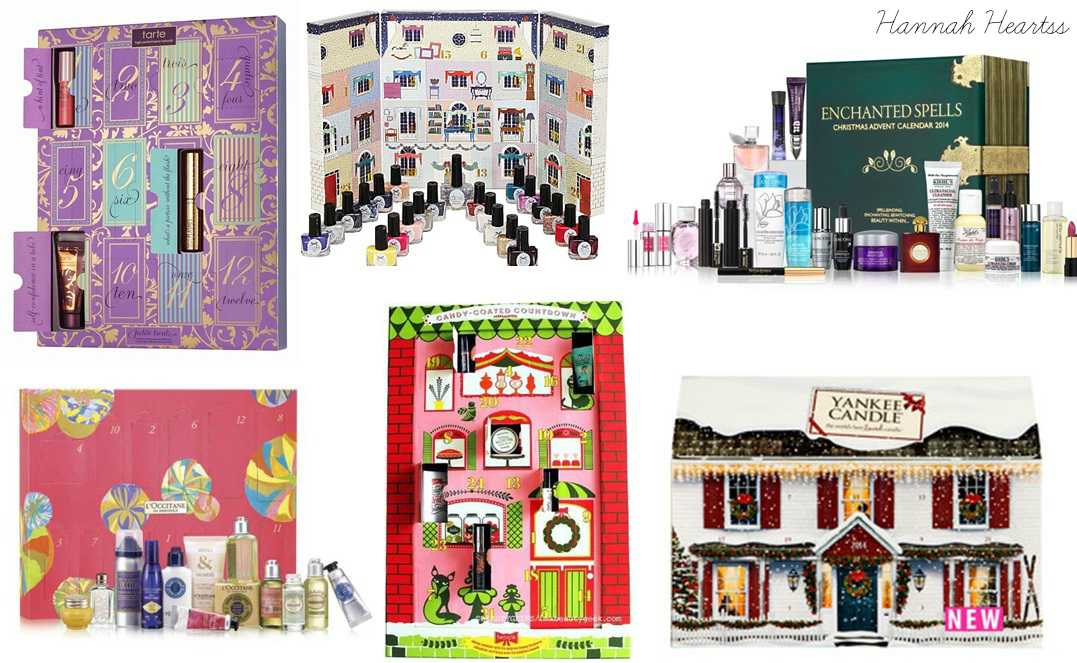Beauty Advent Calenders 2014