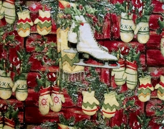 Christmas fabric