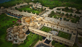 The Oberoi Udaivilas, Udaipur most expensive hotels in India