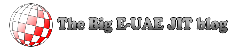 The Big E-UAE JIT blog