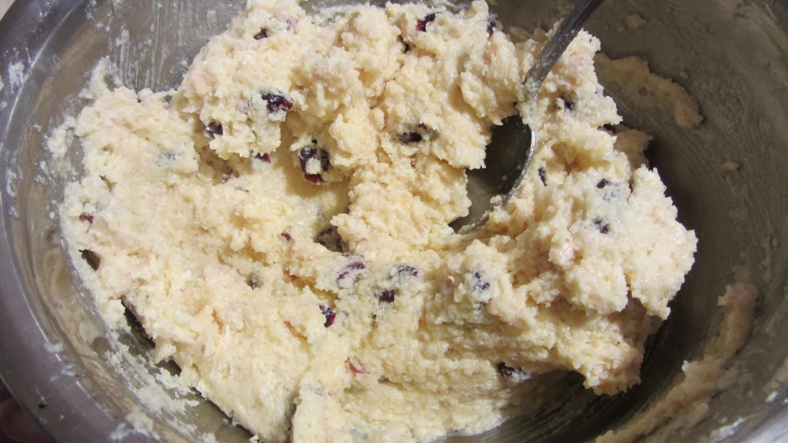 месим тесто для печенья