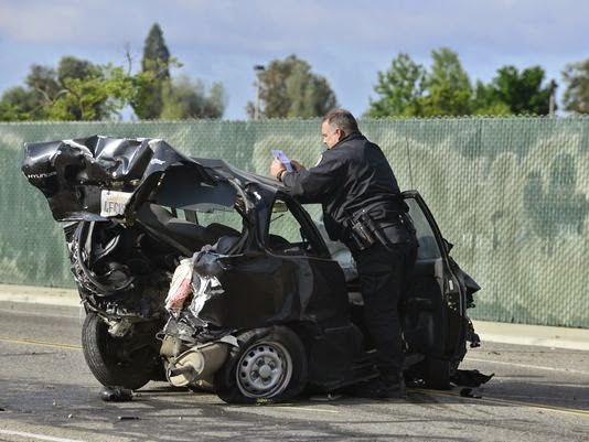Fresno Visalia Bakersfield Accidents: Rear-end Vehicle Accident on