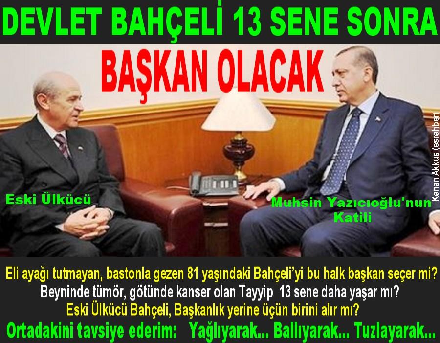 BAHÇELİ'NİN MHP'DE İŞİ BİTTİ