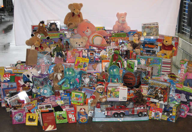 Christmas Toys For Tots Application : Sympathy for the devil there may be no free lunch but
