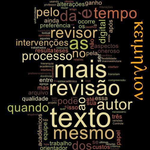 Revisão e formatação do texto acadêmico podem e devem ser feitas pela mesma equipe.