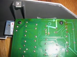 re-soldered reset key