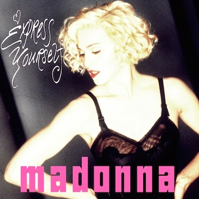 "Madonna ""Express Yourself"" image"