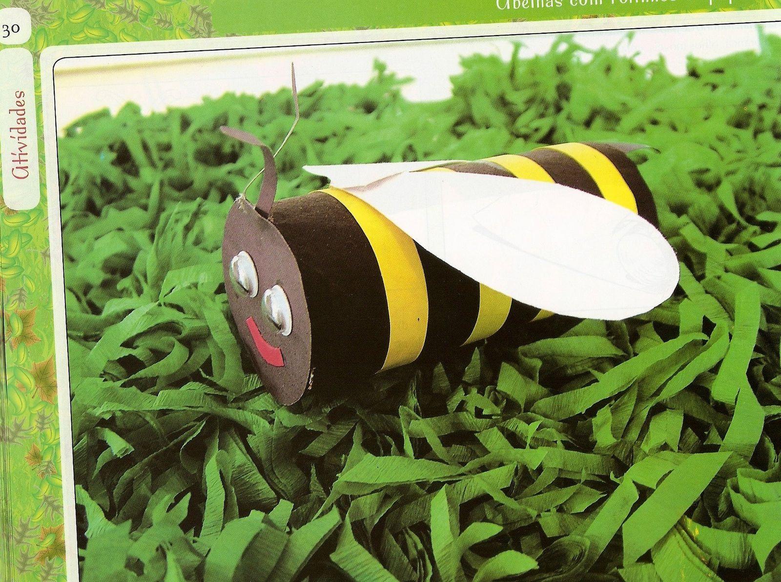 Bichinhos de jardim feitos de sucata!  ESPAÇO EDUCAR