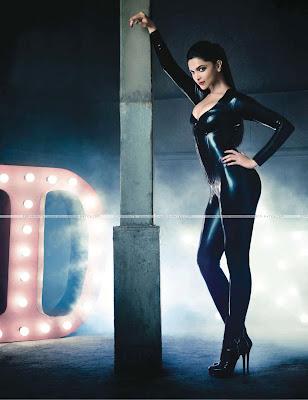 Deepika Padukone Sensuous Catwoman Avatar