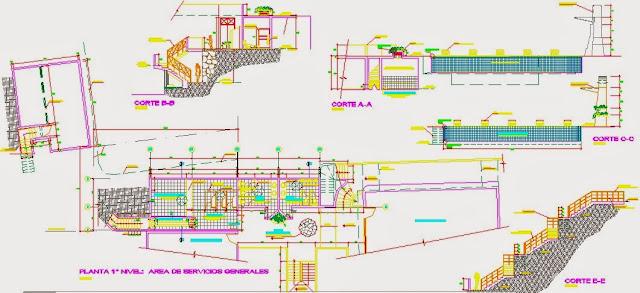Descargar planos en autocad dwg plano piscina for Piscinas en autocad