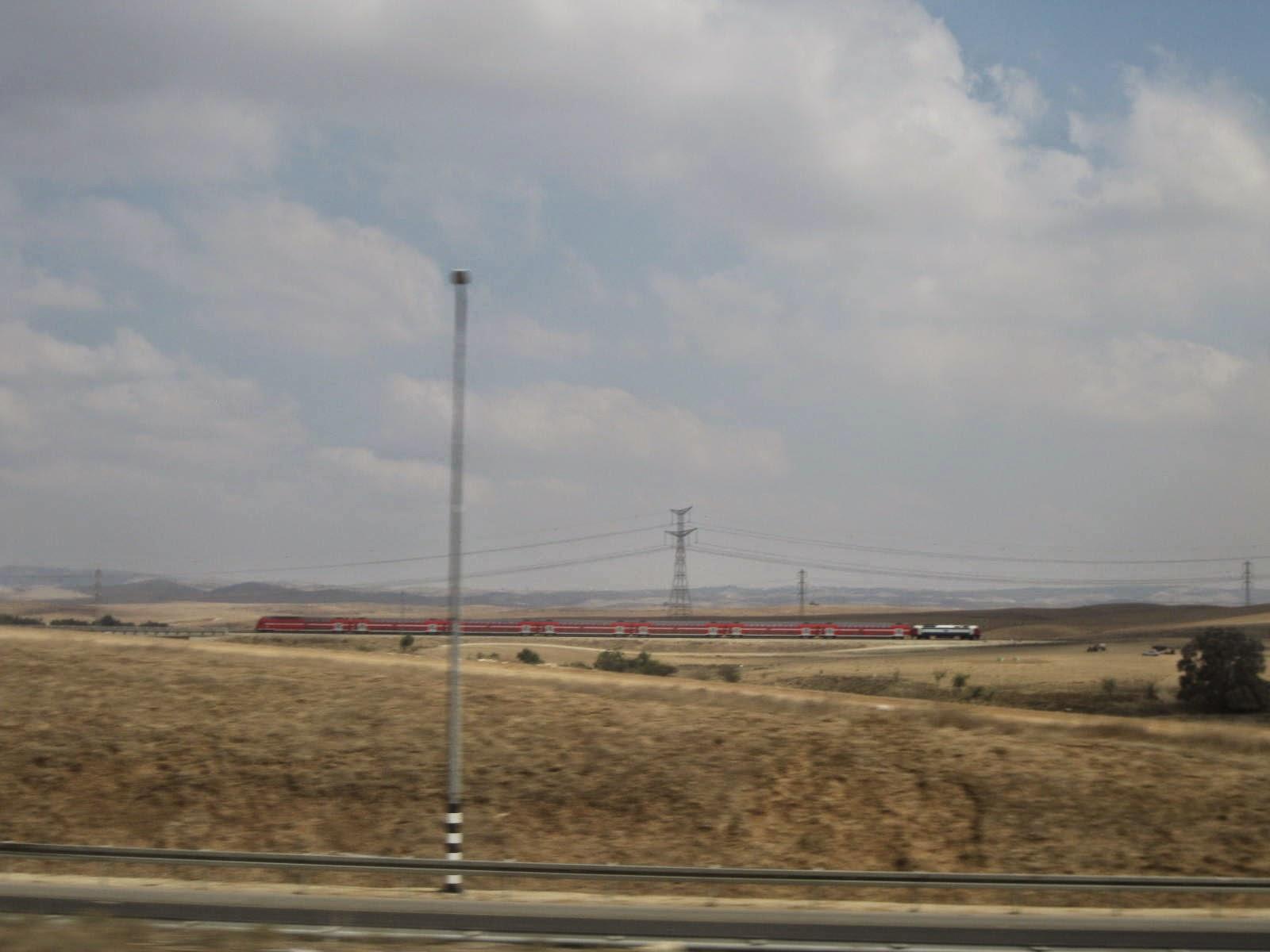 train jerusalem tel aviv